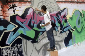 Chinese graffiti artist